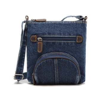 Women's Denim Crossbody Bag