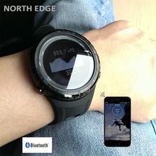 Men Sports Bluetooth Watch Altimeter Barometer Compass Thermometer Weather Forecast Pedometer Watches Digital Run Climbing Watch