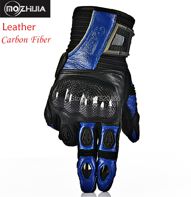 New Carbon Fiber Leather Motorcycle Gloves Racing Gloves Breathable Wearable Protective Gloves Gears Motos Guantes Luvas<br><br>Aliexpress