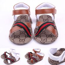 Free Shipping #1541 New Summer Baby Boys Sandal Shoes Toddler Infants Soft Sole Antislip Newborn First Walkers Shoes(China (Mainland))