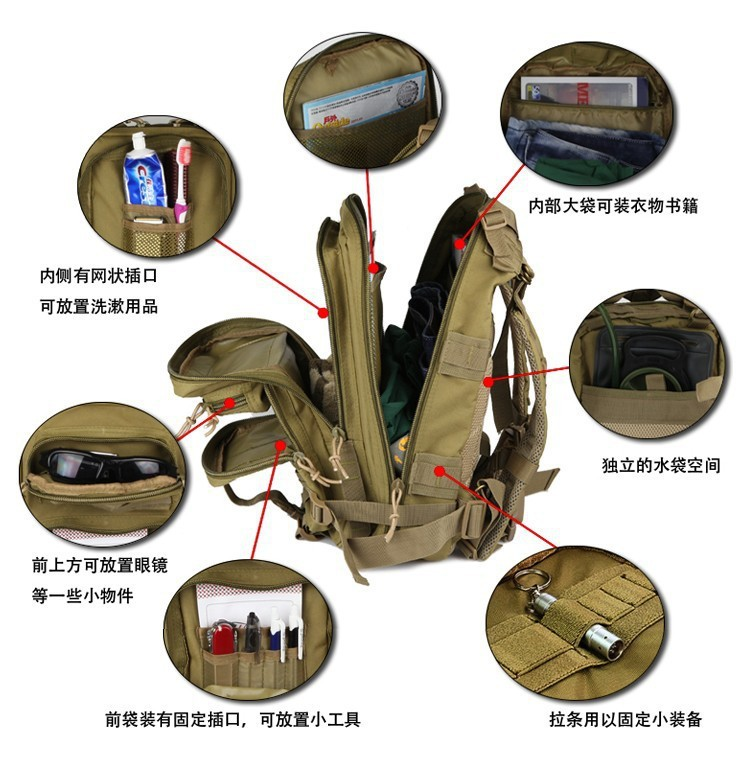 hiking backpack with sleeping bag holder Backpack Tools