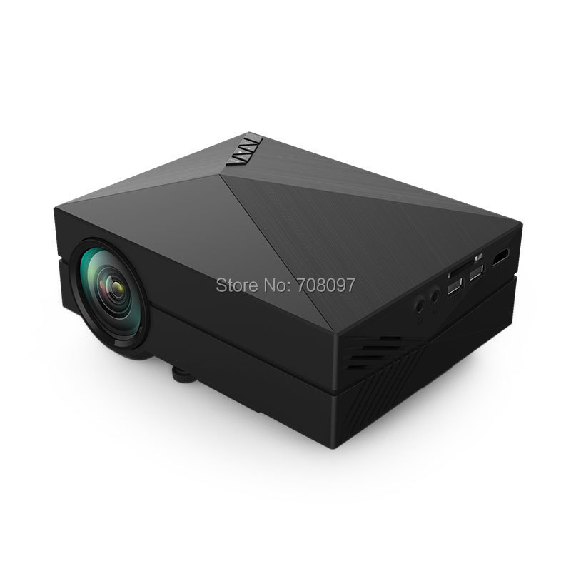 2015 Hot selling In Stock Upgrade GM60 Best LED MINI Projector For Video Games TV Home Theatre Movie Support HDMI VGA AV SD USB(China (Mainland))