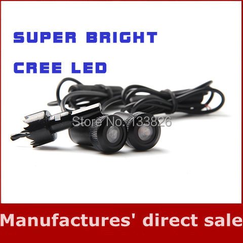 Hot Selling 7W 4th Generation Cree Led Car Laser Logo Light Ghost Shadow Light Auto Projector Door Lamp for Opel(China (Mainland))