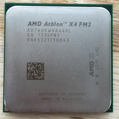 X4 760 k pieces FM2 CPU + pieces in assaying the fineness of quad- new warranty for one year  Free shipping<br><br>Aliexpress