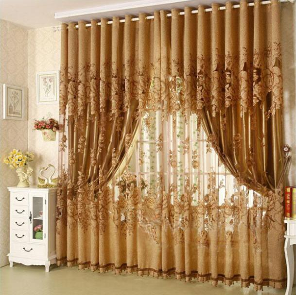 On sale 2 2 7m ready made window curtains for living room for M s living room curtains