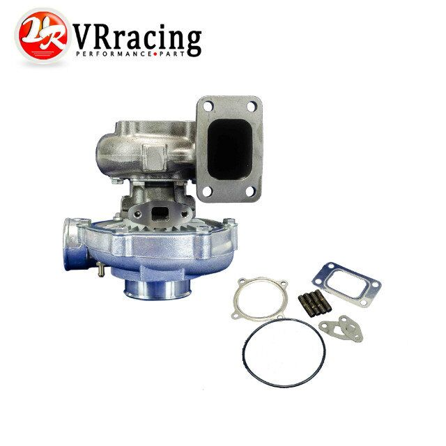 VR RACING-T3 T3/60-1 UNIVERSAL V2 TURBO CHARGER AR70 .63AR 4 BOLT EXHAUST BIG WHEEL VR-TURBO35