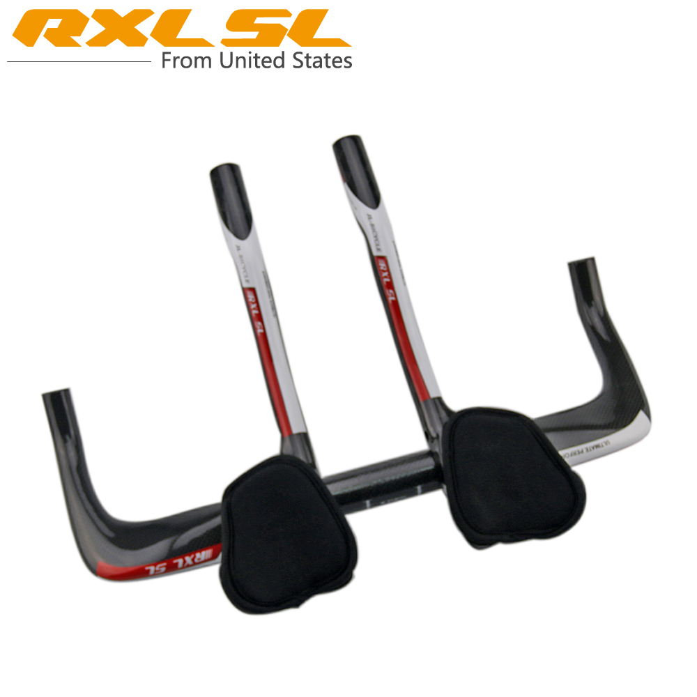 RXL SL Full Carbon Fiber Road Bicycle TT Rest Bar Cycling Bike Parts TT Handlebar With TT Extension RX84(China (Mainland))