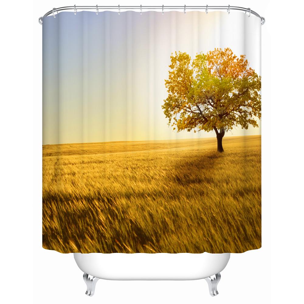 Wasserdicht bad vorhänge luxuriöses modernes bad duschvorhang stoff mode accessoires duschvorhang fj 007