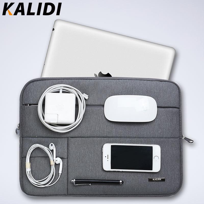 KALIDI Laptop Sleeve Bag Waterproof Notebook case bags For Macbook Air 11 13 Pro 13 15 Retina Surface pro