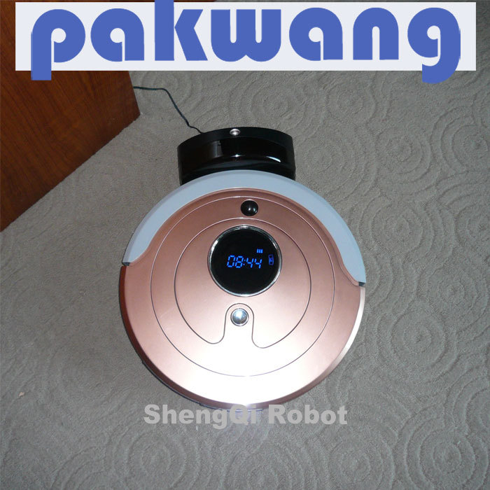 Vacuum cleaner for home remote control floor carpet sweeper,low noise,long workingtime,robot vacuum cleaner klinsmann(China (Mainland))