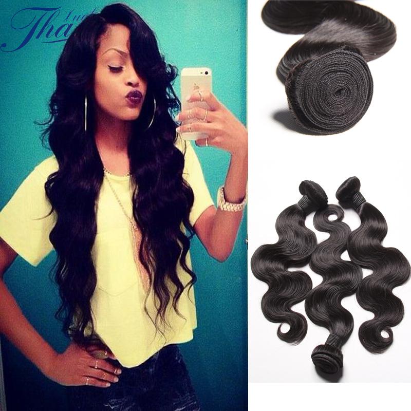 Brazilian Virgin Hair Body Wave Human Hair 4Bundles Natural color 100%Human Hair 7A Unprocessed Human Hair Body Wave Hair<br><br>Aliexpress