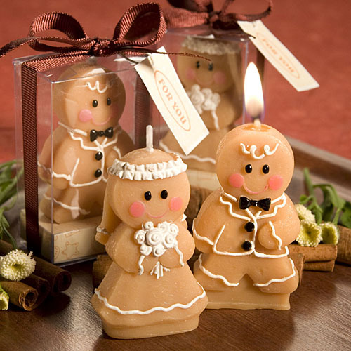 gingerbread man pumpkin candle Wedding birthday festival candles ornament Multi-function candle(China (Mainland))
