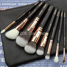 New Arrival Zoeva 8pcs Makeup Brushes Professional Rose Golden Luxury Set Brand Make Up Tools Kit Powder Blend brushes(China (Mainland))