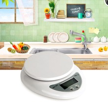 1pcs New Free Shipping 5kg 5000g 1g Digital Kitchen Food Diet Postal Electronic Balance Scale(China (Mainland))