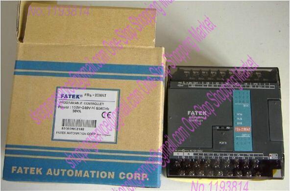 Brand New Original PLC 24VDC Digital input 14 relay output 10 System Unit FBS-24MAR2-AC Programmable Logic Controller(China (Mainland))