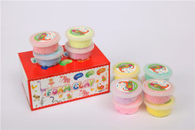 DIY educational toys. Super light silly putty toys. 6 kinds of color(China (Mainland))
