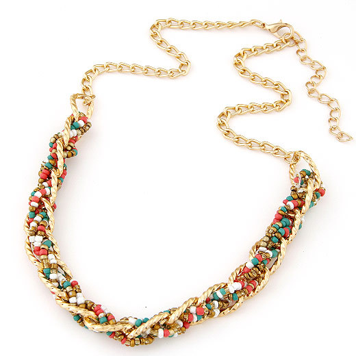 Колье-ошейник Statement necklace 2015 Mujer Colar 2015 & bohemian necklace