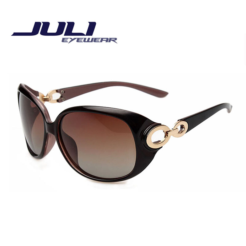 JULI New Women Sunglass Fashion Sun Glasses Polarized Gafas Polaroid Sunglasses Women Brand Designer Driving Oculos 122C(China (Mainland))