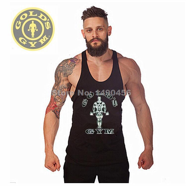 gold 39 s gym bodybuilding stringer tank top superman men 39 s. Black Bedroom Furniture Sets. Home Design Ideas