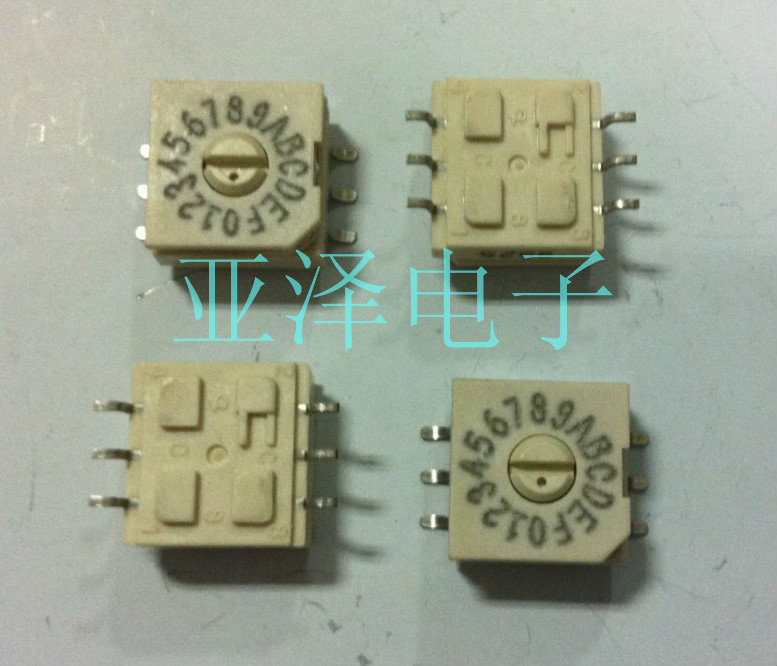 [bella]U.S. GRAYHILL rotating rotary switch 16 0-F DIP switch coding switch 94HAB16WR positive yards--20pcs/lot<br><br>Aliexpress