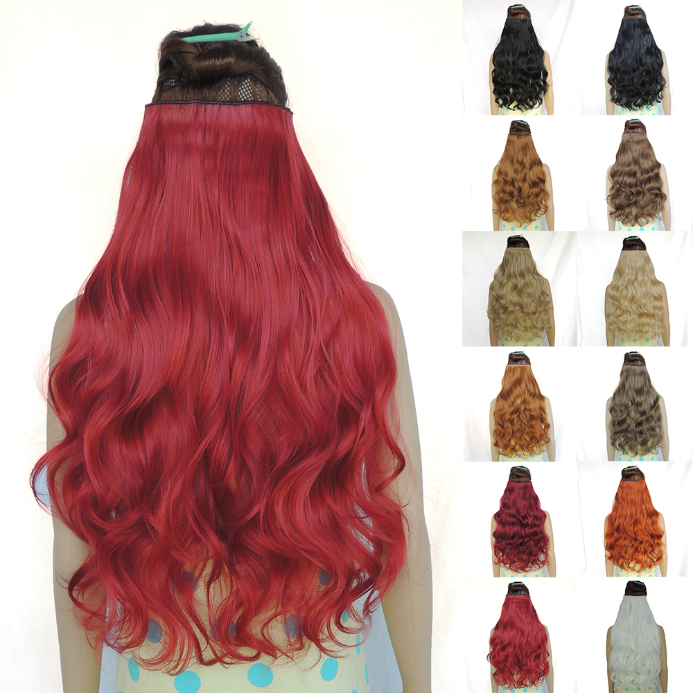 hair extension curly style cosplay sexy formula ali moda new star clip in synthetic bulk cheap blonde red hairstyles 24inch 120g(China (Mainland))