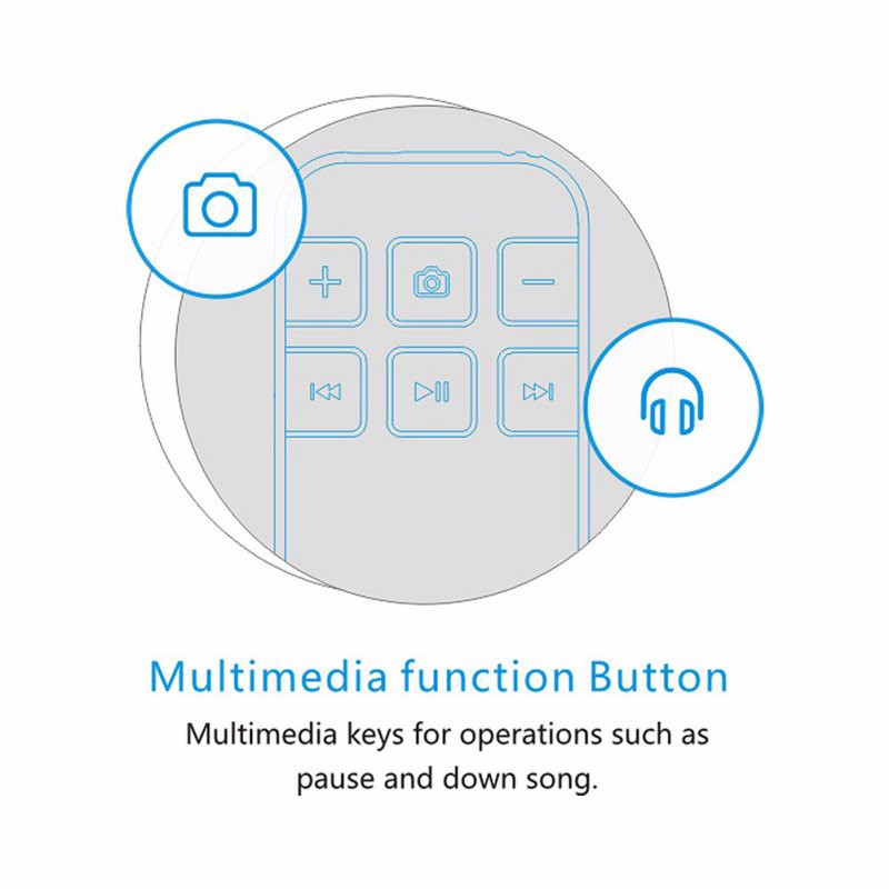image for Wireless Bluetooth Remote Control Shutter For IPhone Android Smartphon
