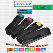 4PC/Lot Compatible color toner cartridge For Kyocera