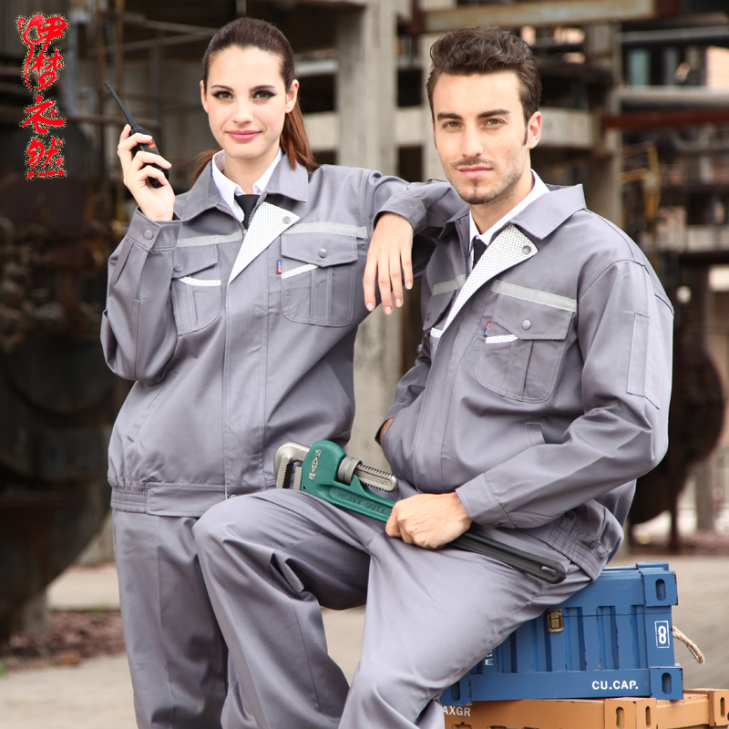 working clothes men Coveralls Men Factory Uniforms Safety Mens Workwear Working clothes Suit Sets Auto Mechanic Clothing(China (Mainland))
