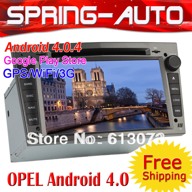 "FREESHIPPING 6.95"" Android 4.0 2 din Car PC Radio For ""OPEL ASTRA ZAFIRA VECTRA CORSA"" DVD GPS Navigator 6959A IPOD 3G Wifi"