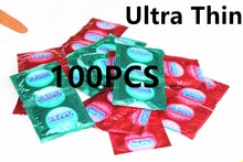 2016 Bulk Condoms Free Shipping 100 PCS Condoms Ultra Thin Condom For Men Very Comfortable(China (Mainland))
