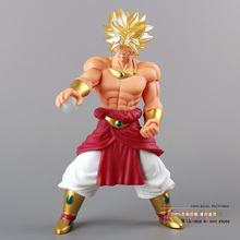 Free Shipping Anime Dragon Ball Z Super Saiyan Broly PVC Action Figure Model Toy 10