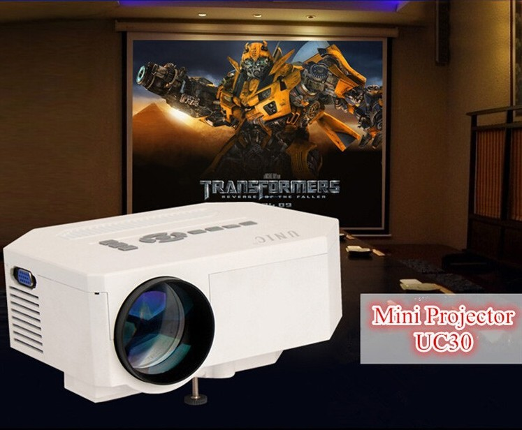 Top quality mini home theater portable uc 30 hd projector for Best quality mini projector
