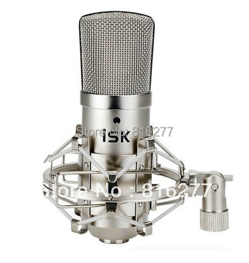 Free shipping ISK BM-800 condenser Microphone professional recording microphone music create broadcast and studio microphone(China (Mainland))