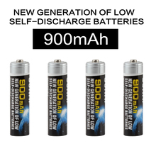 4pcs Sofirn 1.2V 900mAh High Capacity AAA NI-MH Rechargeable Battery for LED Flashlights Headlamps