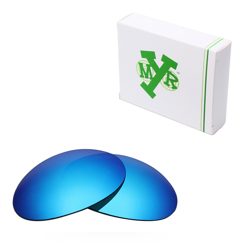 MRY POLARIZED Replacement Lenses for Oakley Romeo 1 font b Sunglasses b font Ice Blue