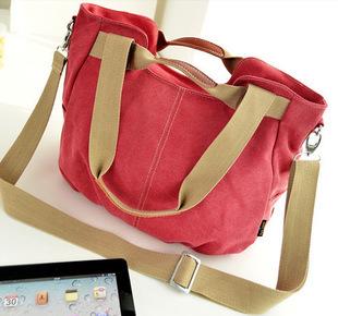 Free shipping Women Handbags Messenger bags Canvas handbag Brand bag High quality(China (Mainland))