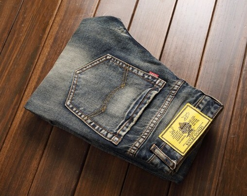 2016 Regular Fit jeans brand jeans male fashion Slim 100% high quality cotton denim  men's jeans