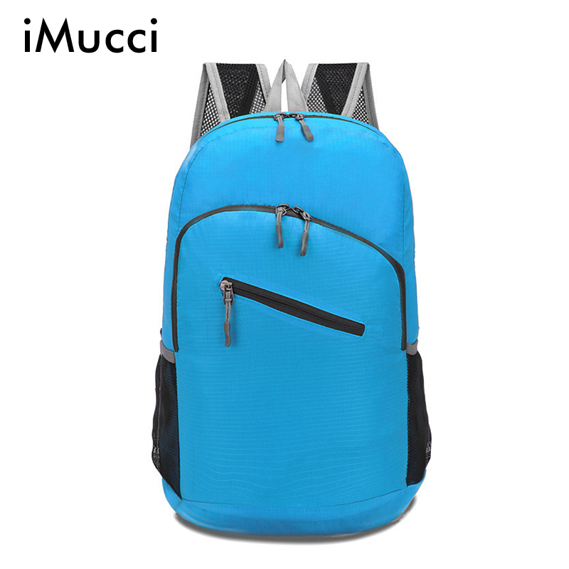 Waterproof Foldable Bicycle Backpack Outdoor Sport Women&amp;Men Small Camping Backpack Hiking Climbing Backpack School Bags <br><br>Aliexpress