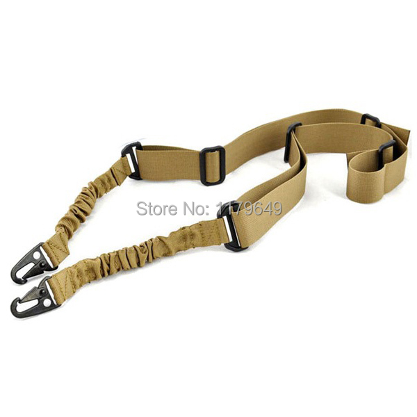Hunting and tactical shooting rifle gun sling adjustable and three colors to choose