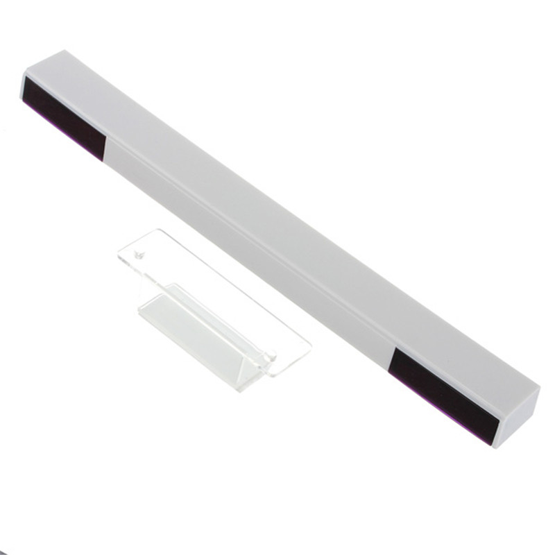 High Quality Top Selling White Wireless Infrared Remote Ultra Sensor Bar for Nintendo For Wii For WiiU Game(China (Mainland))