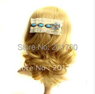 Fashion hairwear women's headwear hairclip flower lace hair pin hair accessory 20pcs/lot mix order Free shipping(China (Mainland))