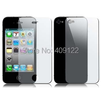 5pcs Front+5pcs Back Matte Anti Glare guard Screen Protector film For apple iPhone 4 4G 4S(China (Mainland))