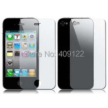 CN (5pcs Front+5pcs Back) Matte Anti-Glare Anti Glare Screen Protector For iPhone 4 4G 4S