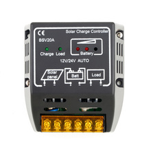 High Quality 1PCS 20A 12V/24V Solar Panel Charge Controller Battery Regulator Safe Protection(China (Mainland))