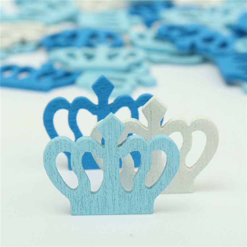 50Pcs Mini Wooden Sea Crown Hollow Out <font><b>Nautical</b></font> Handmade DIY Craft Scrapbooking Embellishment <font><b>Decoration</b></font> Small Items