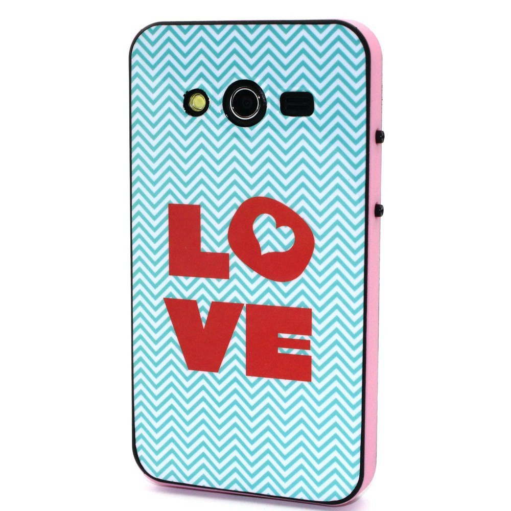 PC+TPU Retro Fashion Trend Pattern 2 in 1 Style Phone Cases Cover For Samsung Galaxy Core II 2 Core2 G355H G3559 G3556D G355