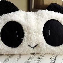 Panda мягкий плюш пенал ручка вкладыш косметический макияж молния сумки Pouc