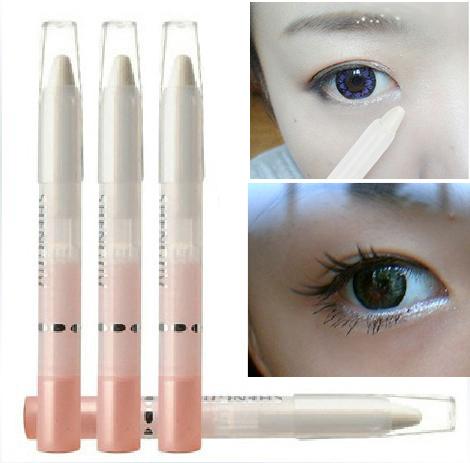(Min Order 10$) 1PCS Pearl White Eyeshadow Pencil Eyeliner Eye Shadow Cosmetic Eye liner Makeup(China (Mainland))