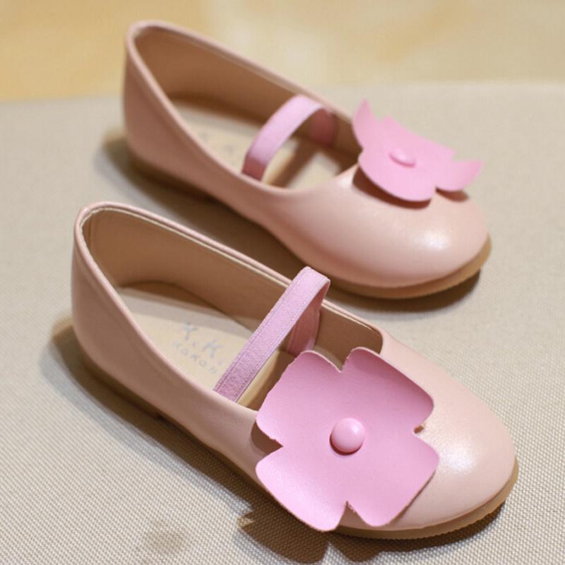 Free Shipping 2016 Girls Princess Shoes spring new girl shoe small children Doug Korean flat shoes soft bottom shoes<br><br>Aliexpress