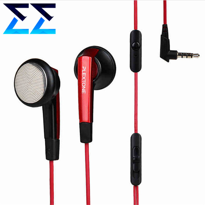new plextone x42m wire classic clear sound earphones hifi noise isolating earbuds stereo